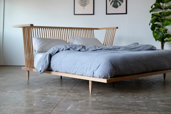 Image of a bed from Beauty and Bread Wood Shop Located in Vancouver, WA