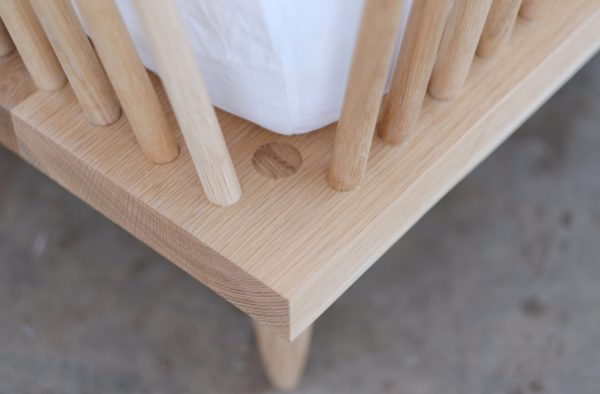 Close up Image of Furniture from Beauty and Bread Wood Shop Located in Vancouver, WA