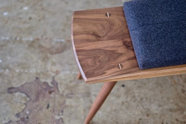 Image of Close-up of a Bench from Beauty and Bread Wood Shop Located in Vancouver, WA